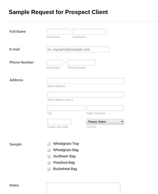 Purchase Order Request Form Templates Jotform