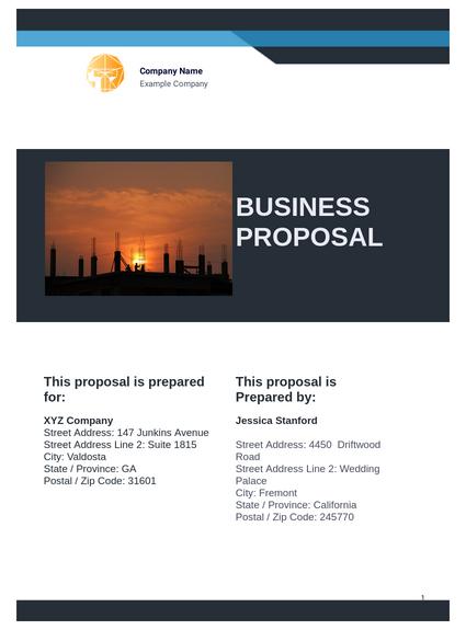 Business Plan Templates Pdf Templates Jotform